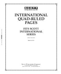 Scott Blank Quad Pages, International Border