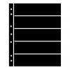 Prinz Hagner Style Single-Sided Stocksheet 5 Rows