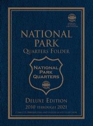 Whitman National Park Quarters Blue Folder P&D