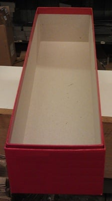 Box for 102 Collectors Cards