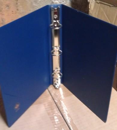 3-Ring Sales Sheet Binder in Blue