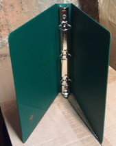 3-Ring Sales Sheet Binder in Green