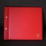 Showgard 896 FDC Album, #10 Envelopes, Red