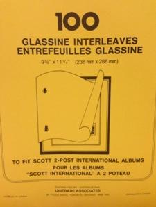 Scott International Glassine Interleaving Pages