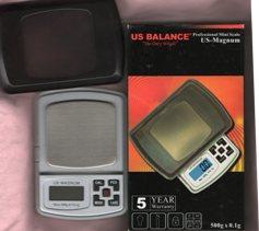 US Balance Professional Mini Scale 500g x 0.1g