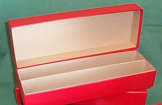 Double Row 14 Inch Red Box