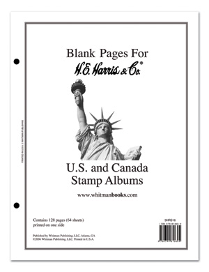 Harris US/UN/Canada Blank Pages